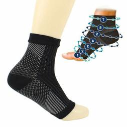 1Pair Compression Socks Foot Ankle Protection Sleeves Cyclin