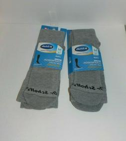 2 Pair Dr. Scholls's Work Compression Over the Calf Men's So