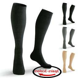 3 Pairs Medical&Althetic Compression Socks for Men, 20-30 mm