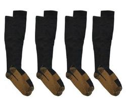Copper Compression Socks 20-30mmHg Miracle Support Mens Wom