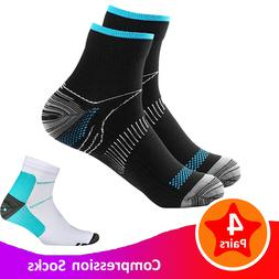 Compression Socks Plantar Fasciitis Arch Ankle Run Support