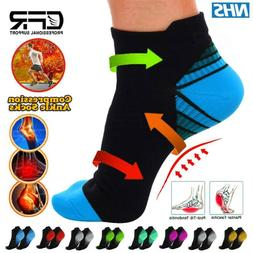 Ankle Compression Sock Men Women Low Cut Compression Running