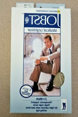 Jobst, Compression Socks for Men, #115512, Thigh High, Small