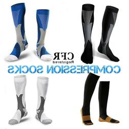 Compression Stockings Socks Calf Brace Ankle Support Sleeve
