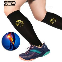 Copper Compression Socks Calf Leg Shin Splint Support Stocki