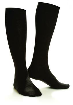 Dr. Comfort Shape To Fit Compression Cotton Knee High Mens D