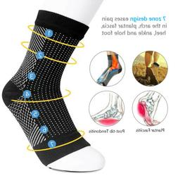 foot anti fatigue compression socks ankle support