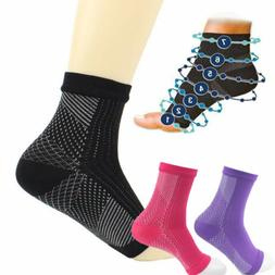 Hot Compression Socks Foot Ankle Protection Sleeves for Cycl