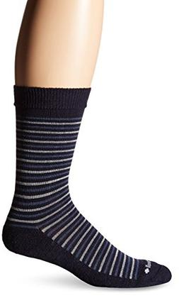 Sockwell Men's Kick Back Socks, Navy, Large/X-Large