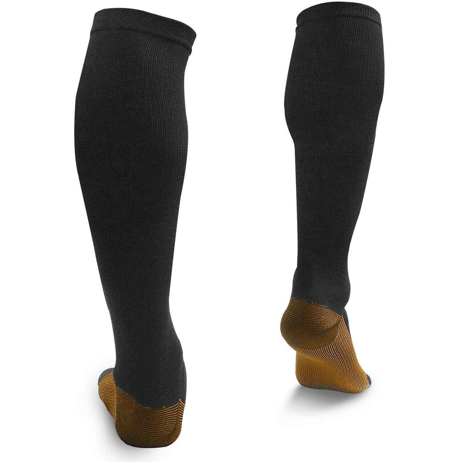 1to5 Copper Socks Calf Foot Support