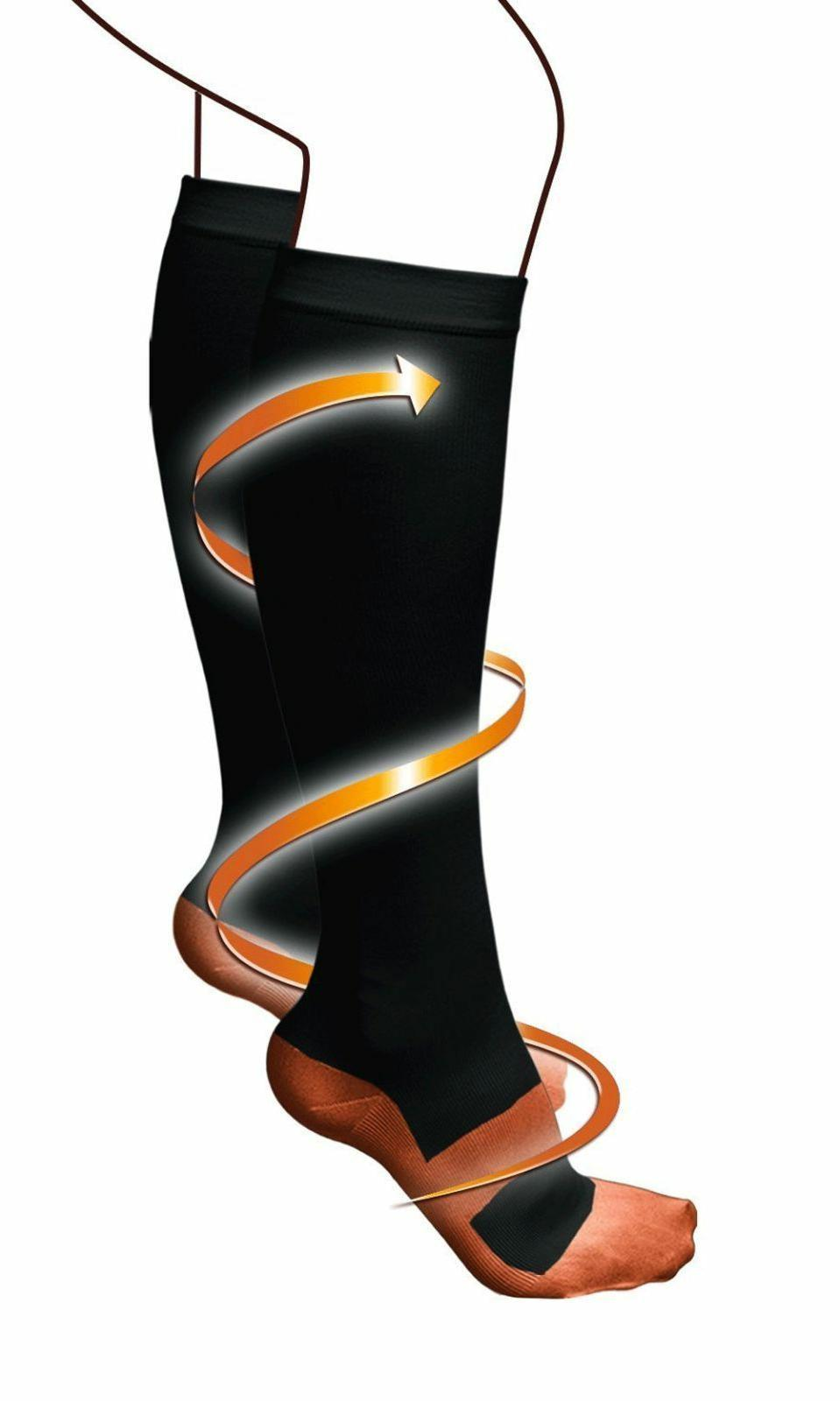 Copper Compression Socks Graduated Support S-XXL Pairs