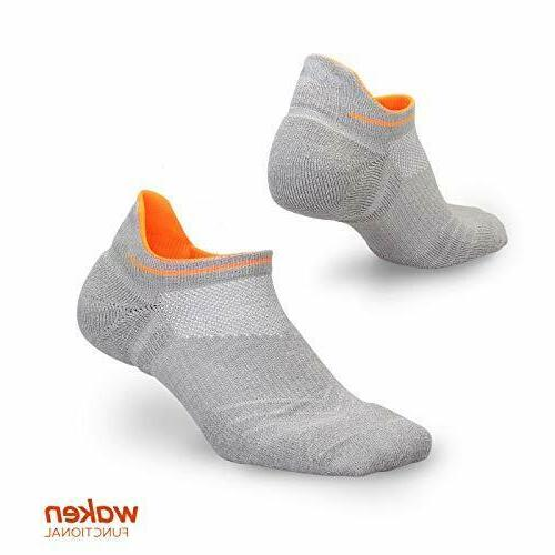 compression running socks anti blister no show