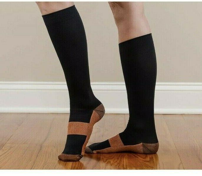 Copper Fit Energy Compression Socks Easy On/Off Unisex