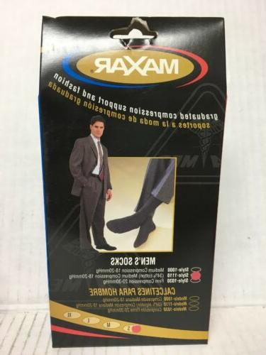 graduated compression support and fashion mens socks