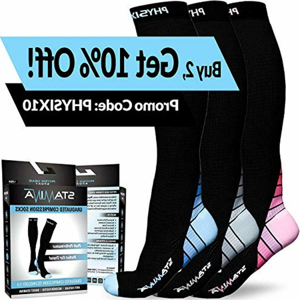 Quality Sport Compression Fabric Socks For Women Fit