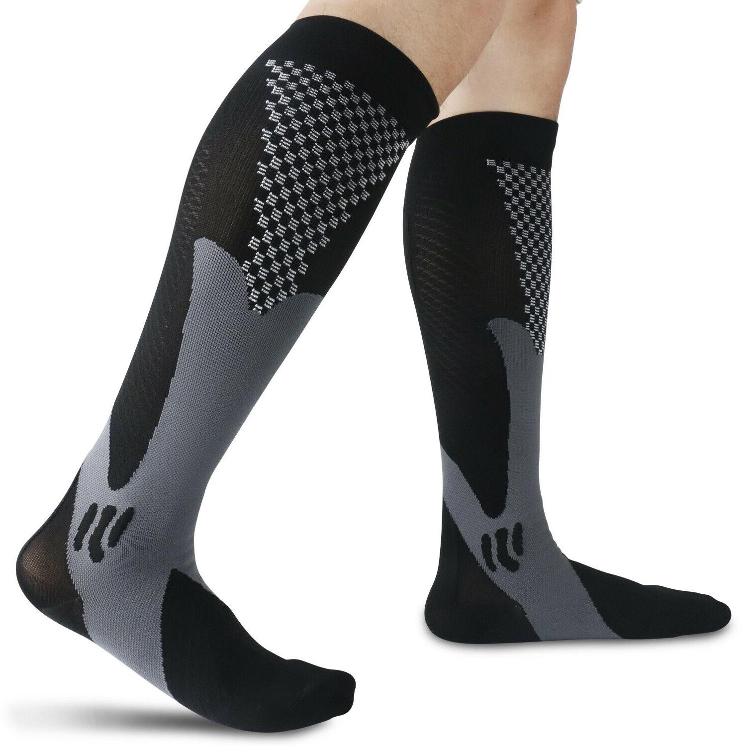 Sports Compression mmHg Leg Support Pain Relief For Men Women