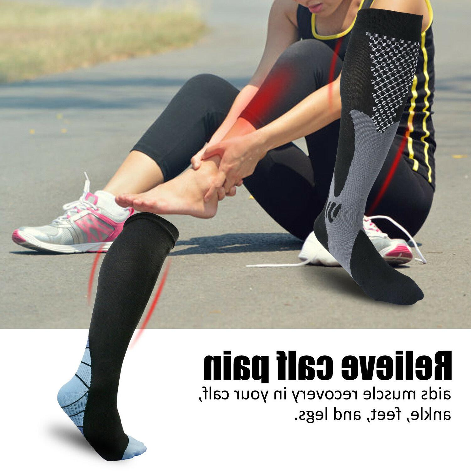 Sports Socks Calf Support Pain Relief for Men US