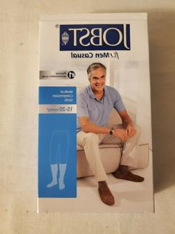 Men's 15-20 mmHg Moderate Casual Knee High Support Sock - Si
