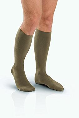 Men's 15-20 mmHg Moderate Support Closed Toe Knee High Suppo