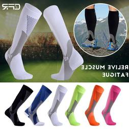 US Compression Socks Calf Leg Support Brace Sport Sprain Shi